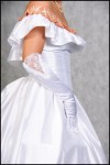 Robe de Bal blanche Second Empire