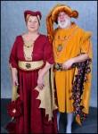 Moyen âge costume XIV siècle